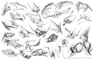 30 Handy Handz by Si3art