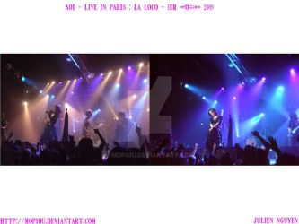 AOI live in Paris La Loco 2009 by mopiou
