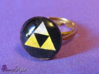 Triforce Ring by Sarinilli