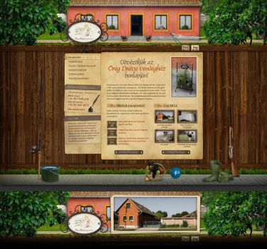 Guesthouse site by floydworx