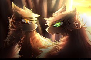 Leafpool's revelation | Redraw| by Frostedlleaf