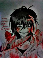 A Rose For Your Life [Jeff The Killer] by Six-0-6