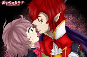 (OnS) 24Comm: Maki and Reiji by AndreaGreenattOC