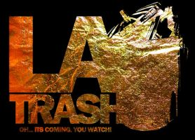 LA Trash  LOGO by JamesRuthless