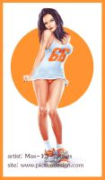pin-up girl 66 by Max-13-Tulmes