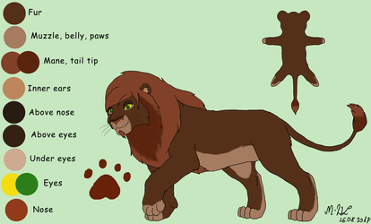 Mate for Ura 2 - contest entry NOW FOR ADOPT by M-WingedLioness