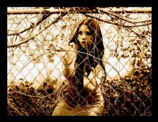 Caged Bird by Hope-on-a-rope