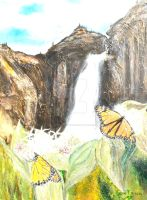 Monarchs on Milkweed Creatures  of Light 1 by Yosemite-Stories