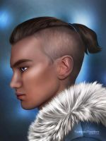 Sokka of the Southern Water Tribe by ThreshTheSky