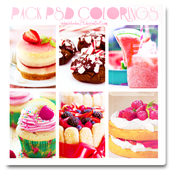 Pack Psd Colorings _1 by shinniebabe24
