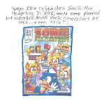 When IDW relaunches Sonic in comic book form by dth1971