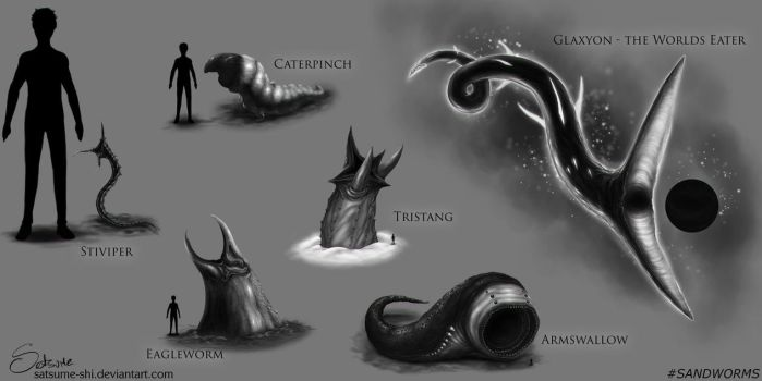 Sandworms by satsume-shi