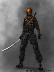 Deathstroke (Request) by Naznamy