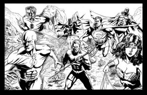 Justice League America by craigcermak