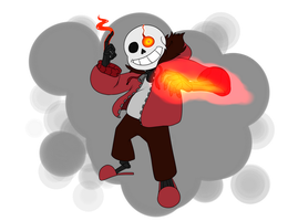 HardTale Sans by CosmicAscension