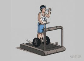 Working Out by Naolito