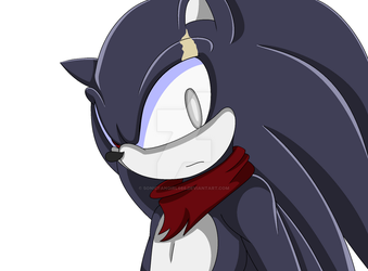 Terios the hedgehog (3/4 Head shot) by sonicfangirl666