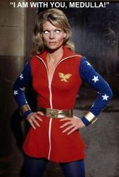 Cathy Lee Crosby's Wonder Woman As A Mind Maiden by The-Mind-Controller
