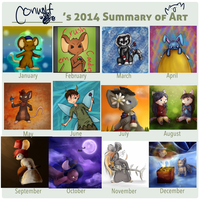 2014 Conwolf's Summary of Art by conwolf