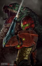 Samus by sixfrid