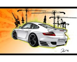Porsche Carrera by Pharr0xx