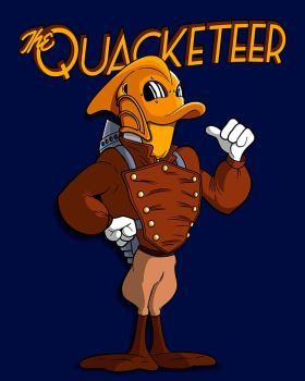 The Quacketeer. by JCMaziu