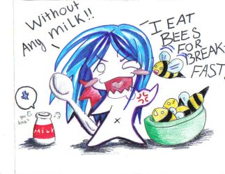eat bee without milk by sxk