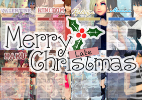 Merry LATE Christmas 2015 by NaminF