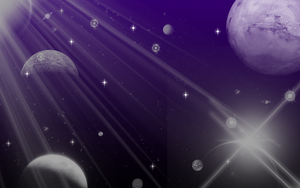Planets BG by Forlork