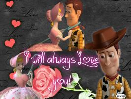 woody and bo peep by spidyphan2