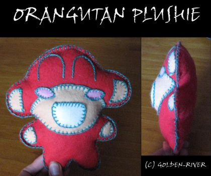 Orangutan Plushie by golden-river