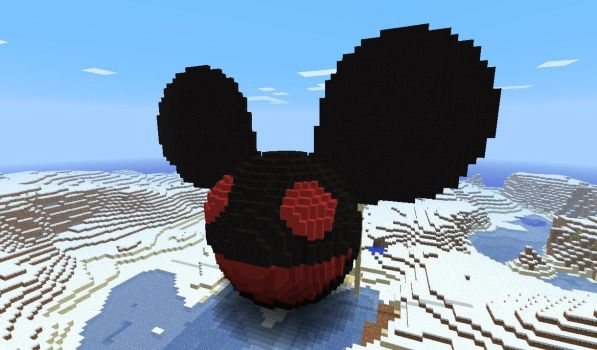 Minecraft Mau5 by PartyhardPorygon