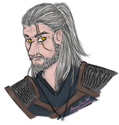 Geralt of Rivia by NemytThorleif