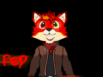 Red The Fox by FireFoxOmicron