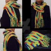Colorful Scarf - FOR SALE by taniathepirate