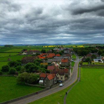 View from Bamburgh Castle by day-seriani