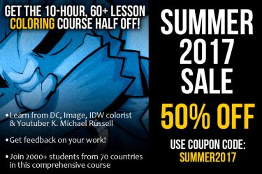 Half-off my coloring course right now by kmichaelrussell