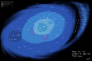 Map of the Alclaron Universe by joshuad17