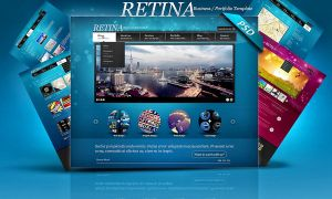 PSD Retina Multipurpose Web Templates by retinathemes