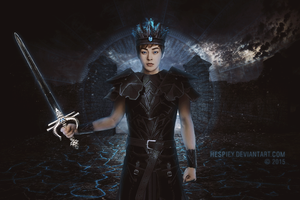 Edge of Time - Minseok [Dark moon] by hespify