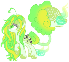 Space cotton mouth Adopt (closed) by AzrealRou