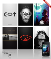 iPhone Wall U2 Mix 1 by ncrow