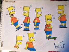 BART SIMPSON LOVE by Wilbur-distiny