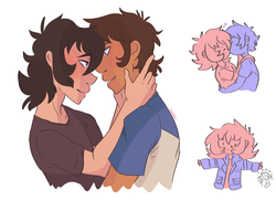 Woah More Klance by ssdoodleboat