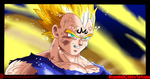 Vegeta's Sacrifice by Evil-Black-Sparx-77