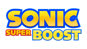 Sonic Super Boost Fan Logo by NuryRush