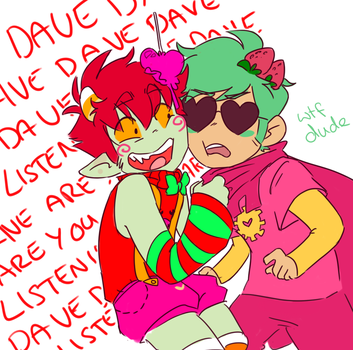 HEY HEY DAVE DAAAVE LISTEN TO ME DAVE by EmmysSketchbook