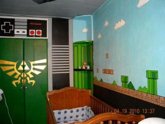 Nintendo Baby Room by TheRealSurge