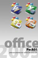 MS Office 2005 Icons by weboso