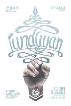 Lunduyan 2013 poster by Chili-icecream